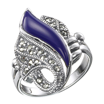 The Power Statement Marcasite ring